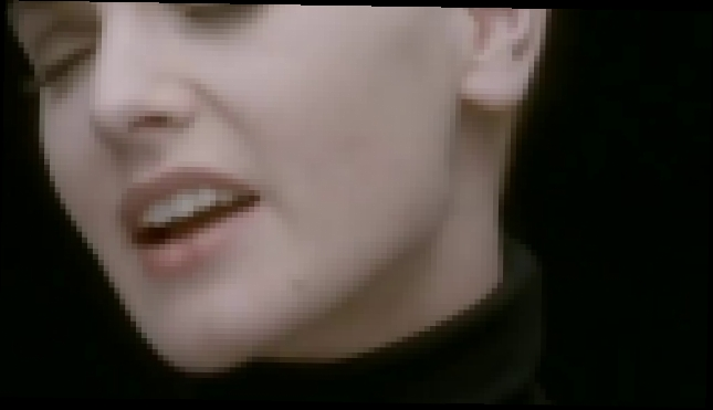 Видеоклип Sinead o' Connor - nothing compares to you  (Best Audio Quality)