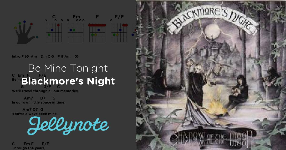 Blackmore's Night - Be Mine Tonight картинки